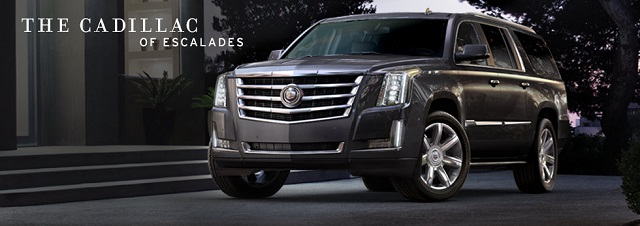 2015 Escalade takes on Navigator in epic battle