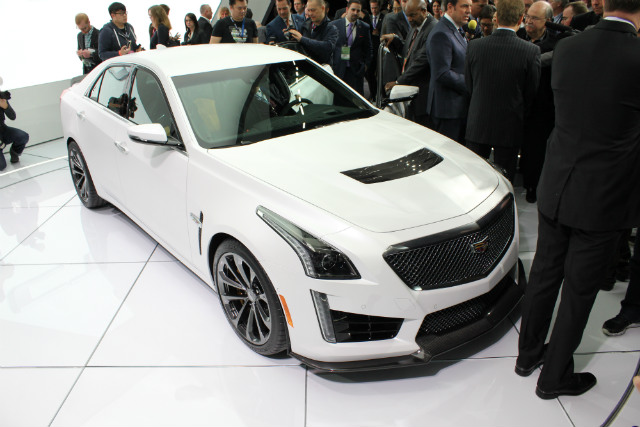 Release date for the 2016 CTS-V coming this summer