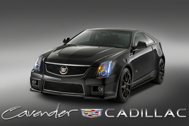 2015 CTS-V Coupe coming soon to Cavender Cadillac