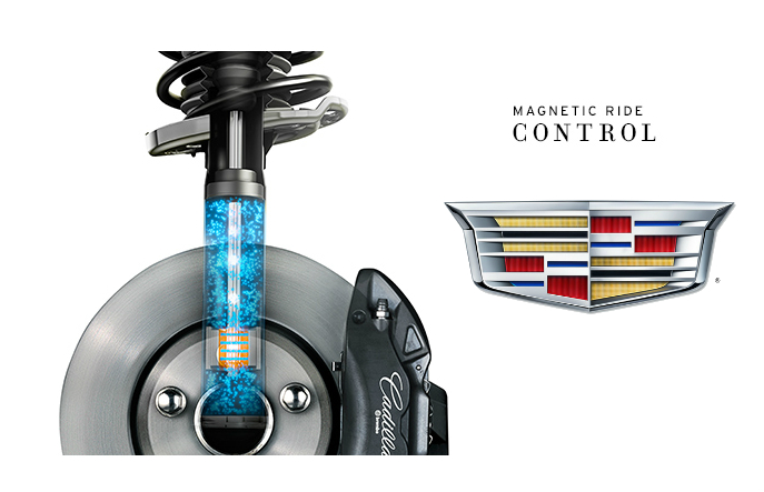 What is Magnetic Ride Control and how does it contribute to your Cadillac's performance?