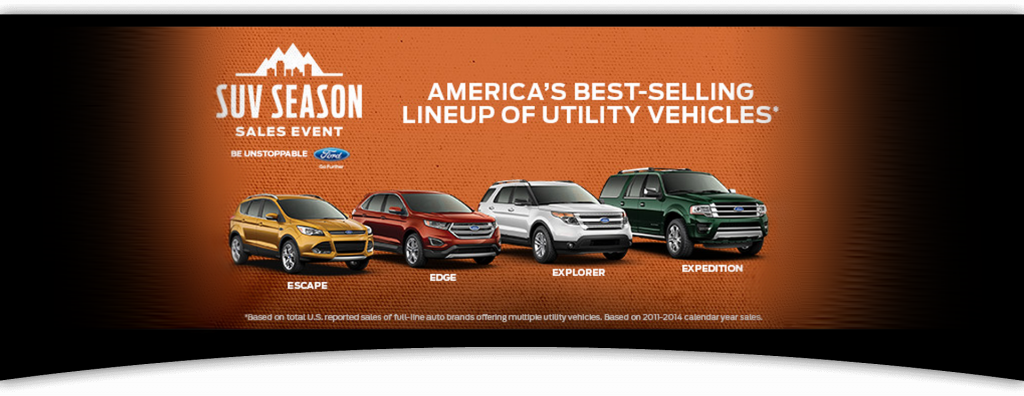 Ford suv leasing specials at Dorsch in Green Bay, WI