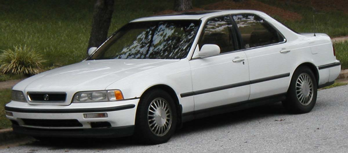 You may see Ludacris 1993 Acura Legend driving around