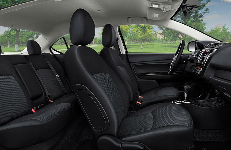 How big is the mitsubishi mirage sedan don herring for Mirage interior exterior design concepts