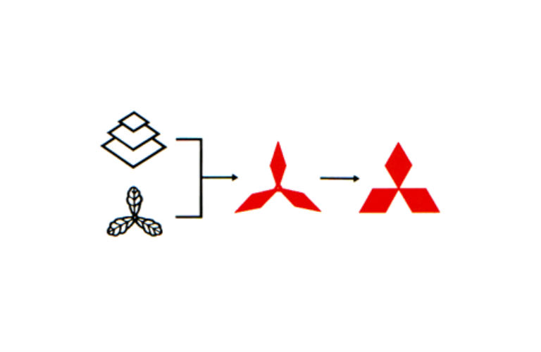 what is the mitsubishi logo?