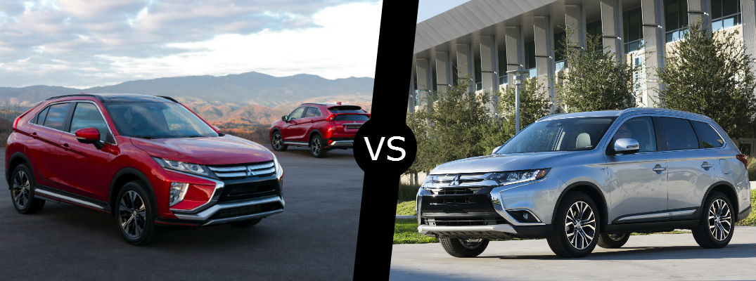 2018 Mitsubishi Eclipse Cross vs. 2017 Outlander