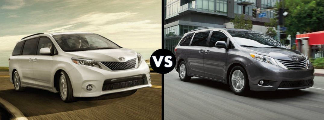 ... Comparisons , Toyota Sienna on Tuesday, March 8th, 2016 at 4:59 pm