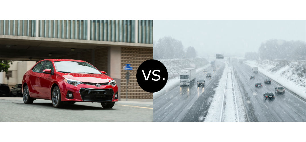 Toyota Corolla Winter Driving Capabilities