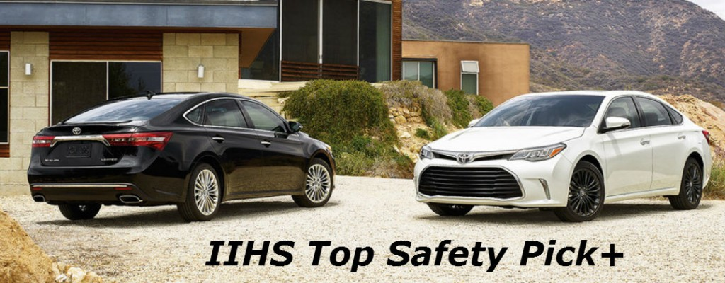 2016 Toyota IIHS Top Safety Pick+ Crash Test Ratings At Allan Nott Toyota Lima  OH