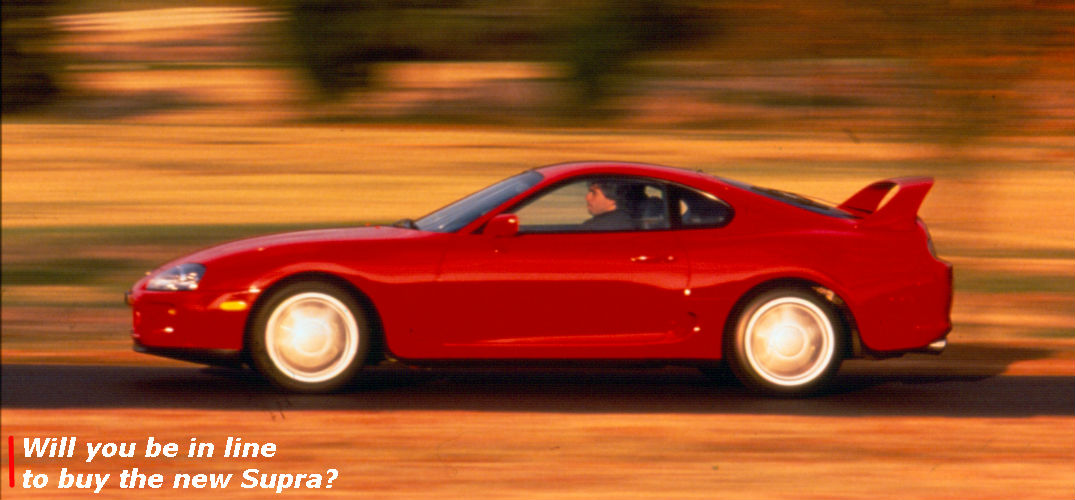 is the toyota supra going to be built again. Black Bedroom Furniture Sets. Home Design Ideas