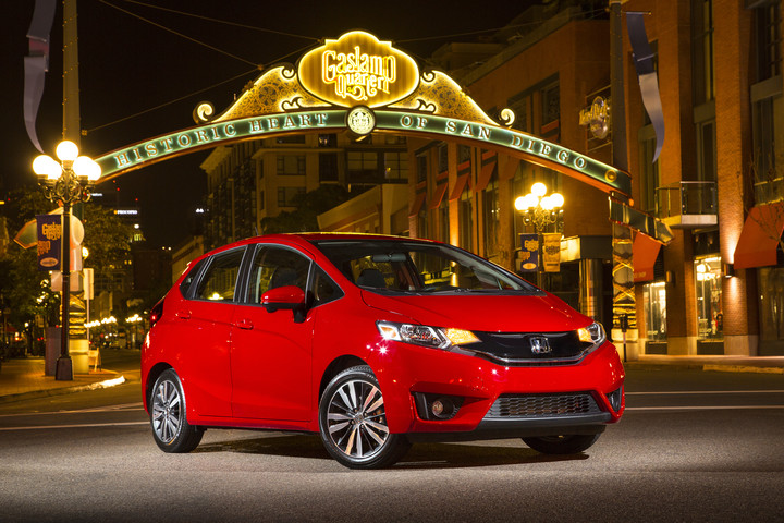 What Are the Color Options for the 2016 Honda Fit? at  Allan Nott Honda-Lima OH-New Honda Dealer-Milano Red Honda Fit Exterior