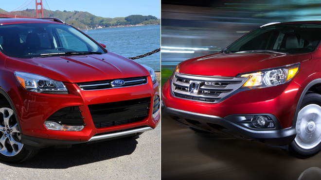 honda crv vs ford escape