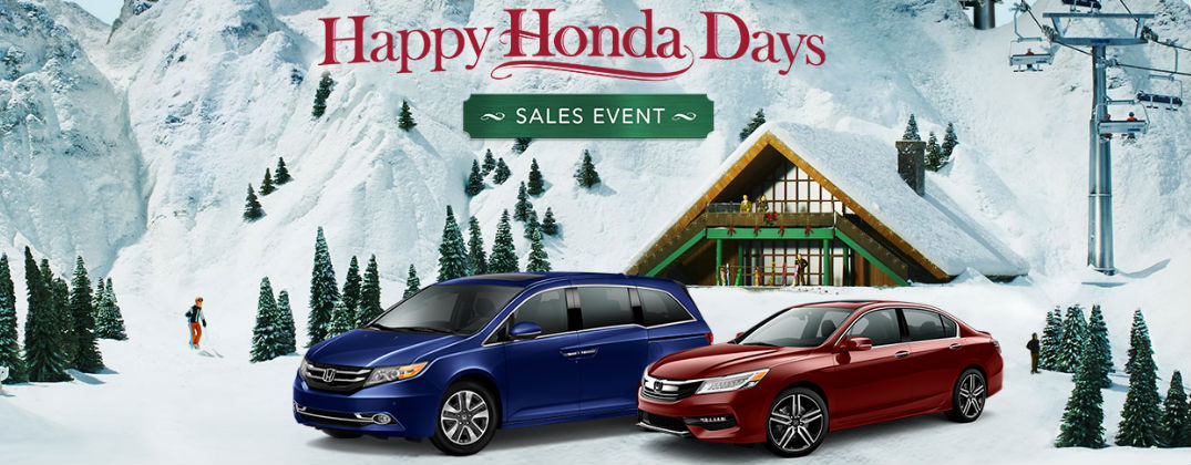 Happy Honda Days Sales Event Lima OH at Allan Nott Honda-Happy Honda Days Sales and Incentives Banner