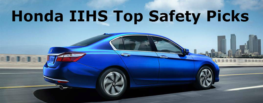 2016 Honda Crash Test and Safety Ratings at Allan Nott Honda-Lima OH-2016 IIHS Top Safety Picks
