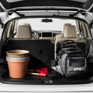 2017 honda pilot passenger and cargo space features. Black Bedroom Furniture Sets. Home Design Ideas
