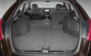 2014 Honda Crosstour Cargo Space