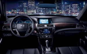 2014 Honda Crosstour interior