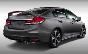 2015 Honda Civic vs Honda Civic Si at Allan Nott