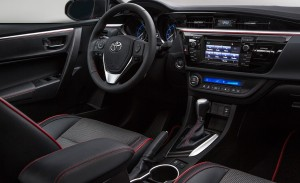 Prices Are Set for 2016 Toyota Camry and Corolla Special Editions at Allan Nott-Lima OH-New Toyota Dealer-2016 Toyota Corolla Special Edition Interior
