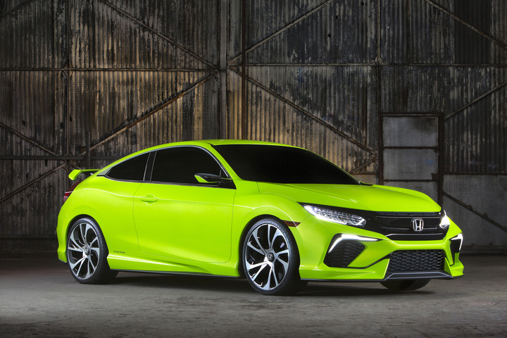 New 2016 Honda Civic More Athletic and More Luxurious Than Ever at Allan Nott-Lima OH-Fort Wayne IN-New Honda and Toyota Dealer-2016 Honda Civic Concept