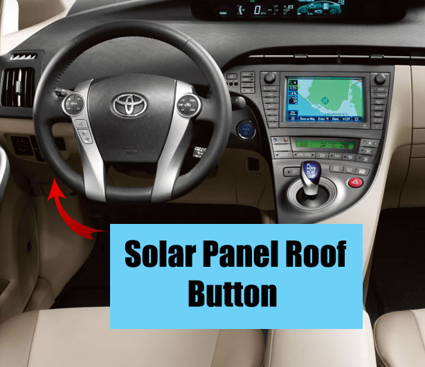 Prius Solar Roof >> How To Use The Toyota Prius Solar Panel Roof