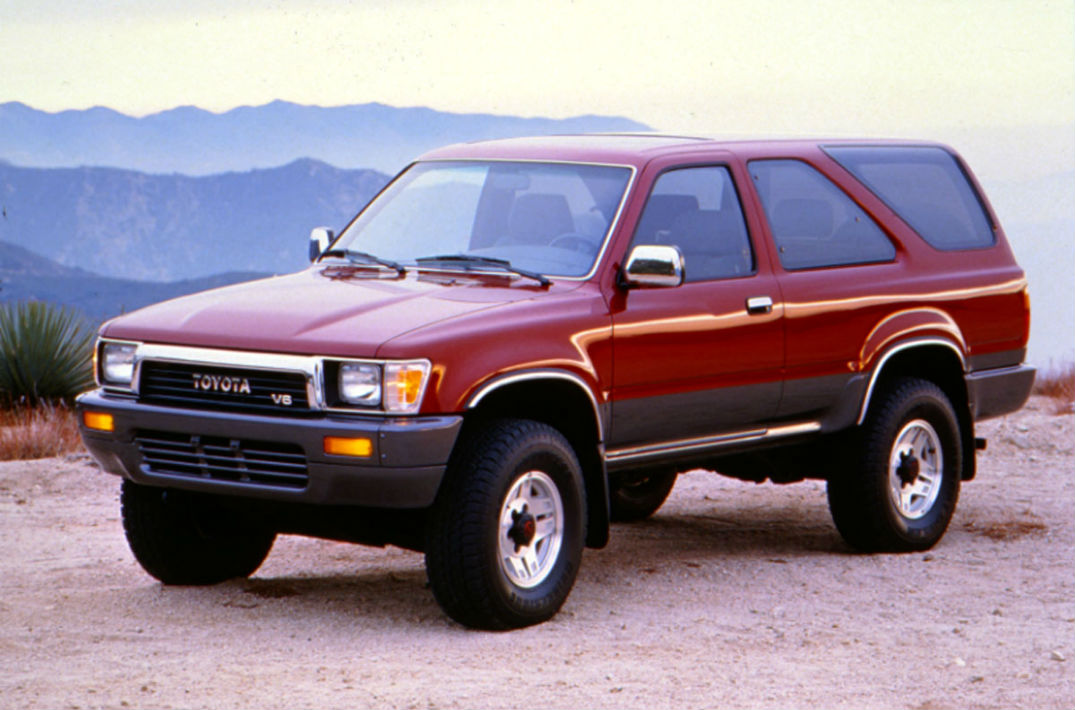 1995 Toyota 4Runner all new model may debut in Chicago