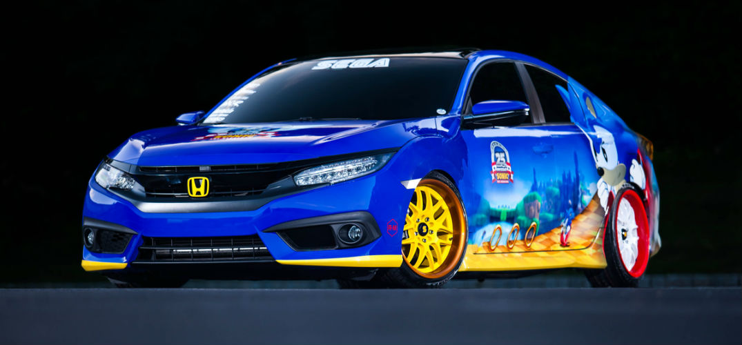 Honda shows off special Sonic Civic