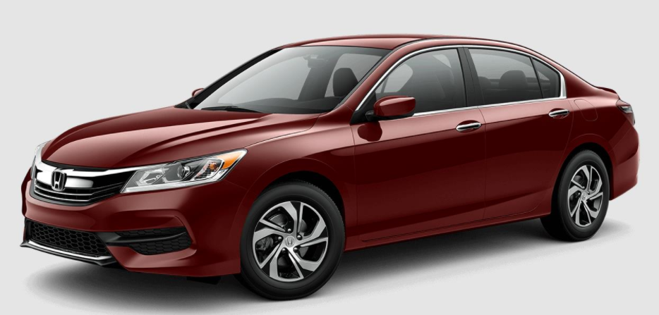 2017 Honda Accord Basque Red Pearl II