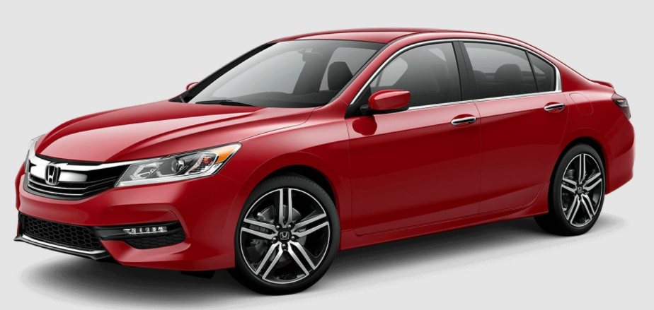 2017 Honda Accord San Marino Red
