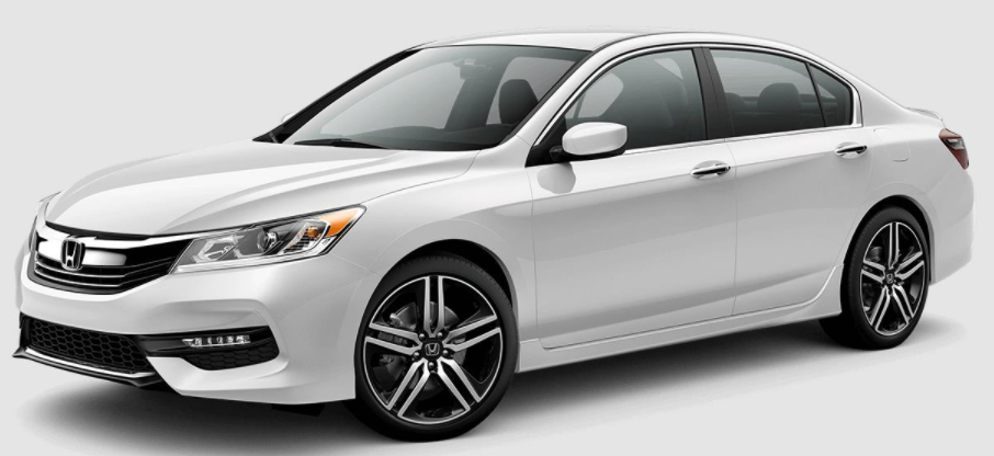2017 Honda Accord White Orchid Pearl