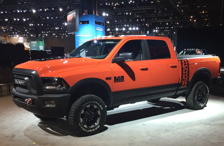 2017 Ram 2500 Power Wagon engine and off-road package specs
