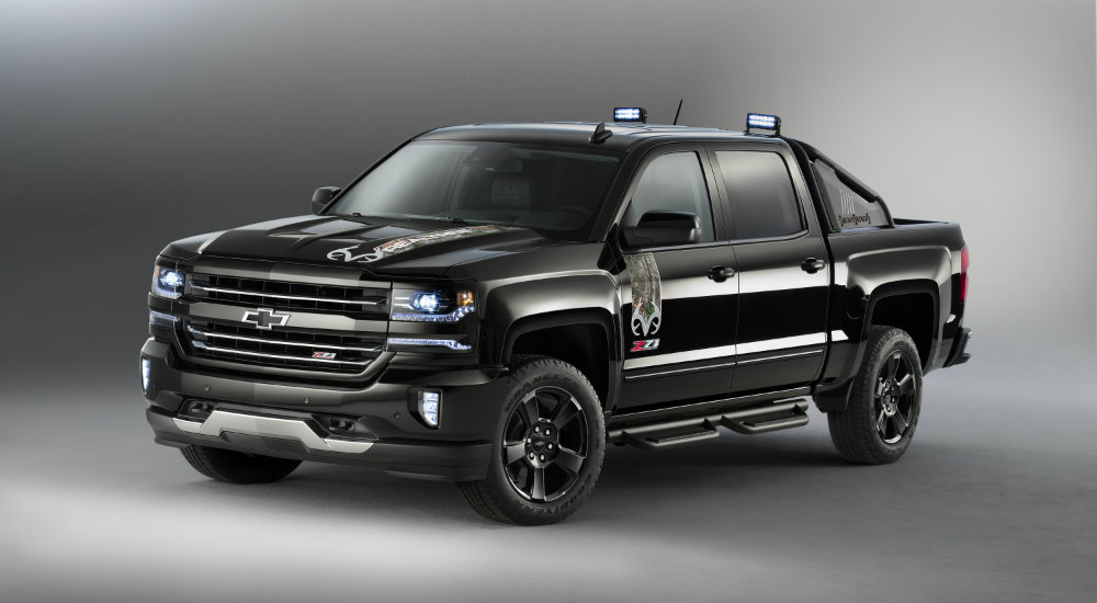 2016 chevy silverado special edition trucks. Black Bedroom Furniture Sets. Home Design Ideas