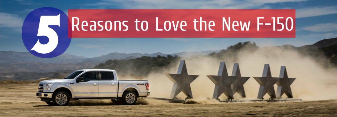 Five Reasons to Love the Aluminum Ford F-150