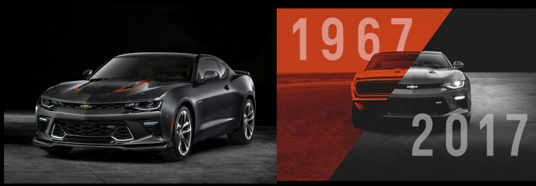 Chevy Celebrates 50 Years with Anniversary Edition Camaro