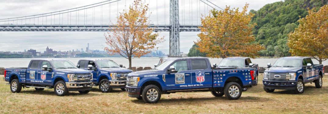 Ford Trucks Are the Official Truck of the National Football League