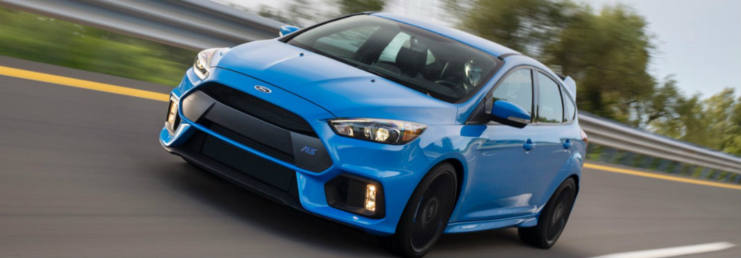 2017 Ford Focus RS Awards