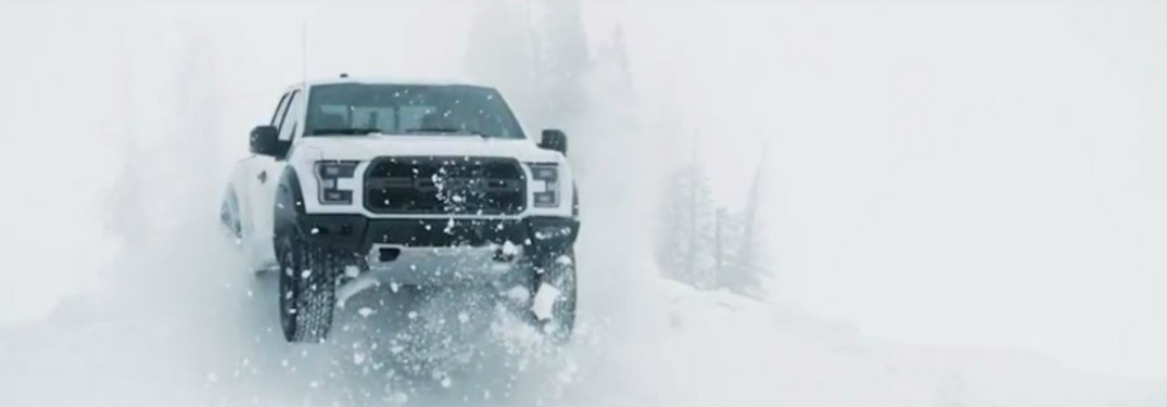 2017 Ford F-150 Raptor Snow Performance Video
