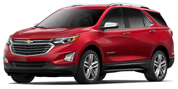 New 2018 Chevrolet Equinox Exterior Color Options