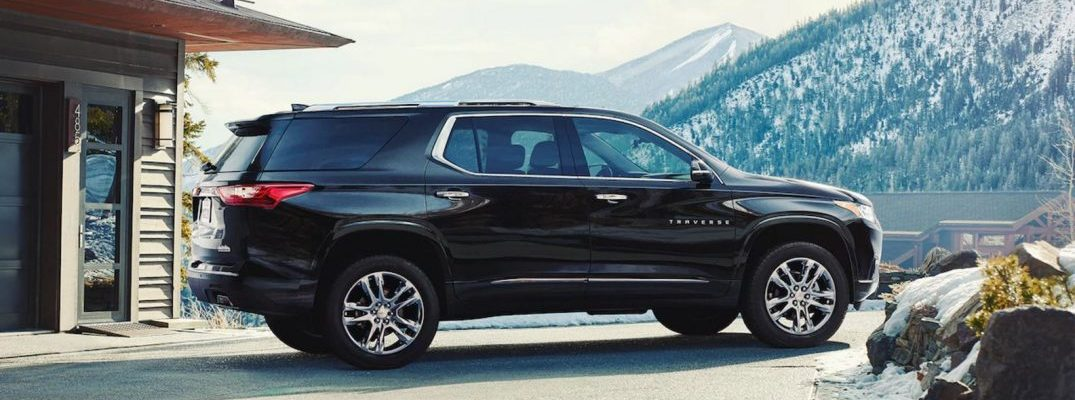 2018 chevy traverse exterior side