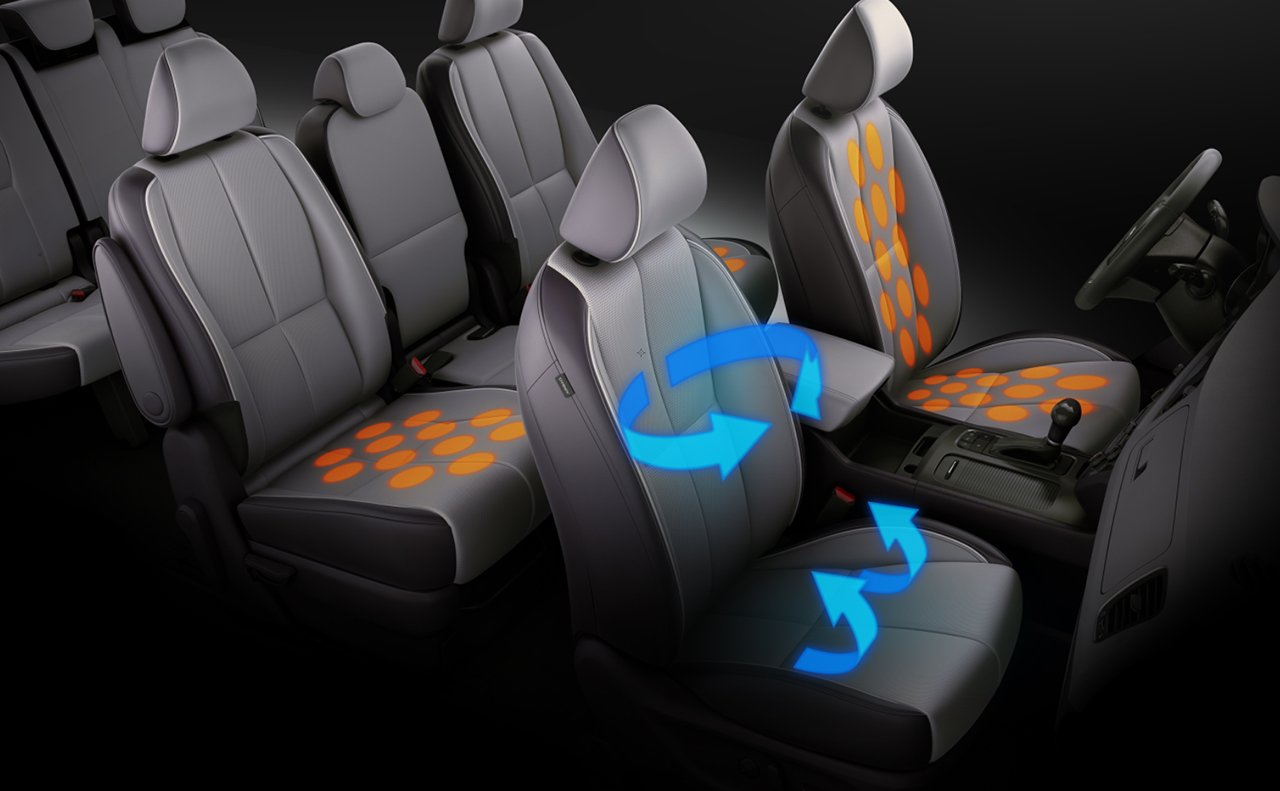 2016 Kia Sedona seating options Slide-N-Stow lounge seating Friendly Kia of New Port Richey Tampa Clearwater Spring Hill Trinity FL