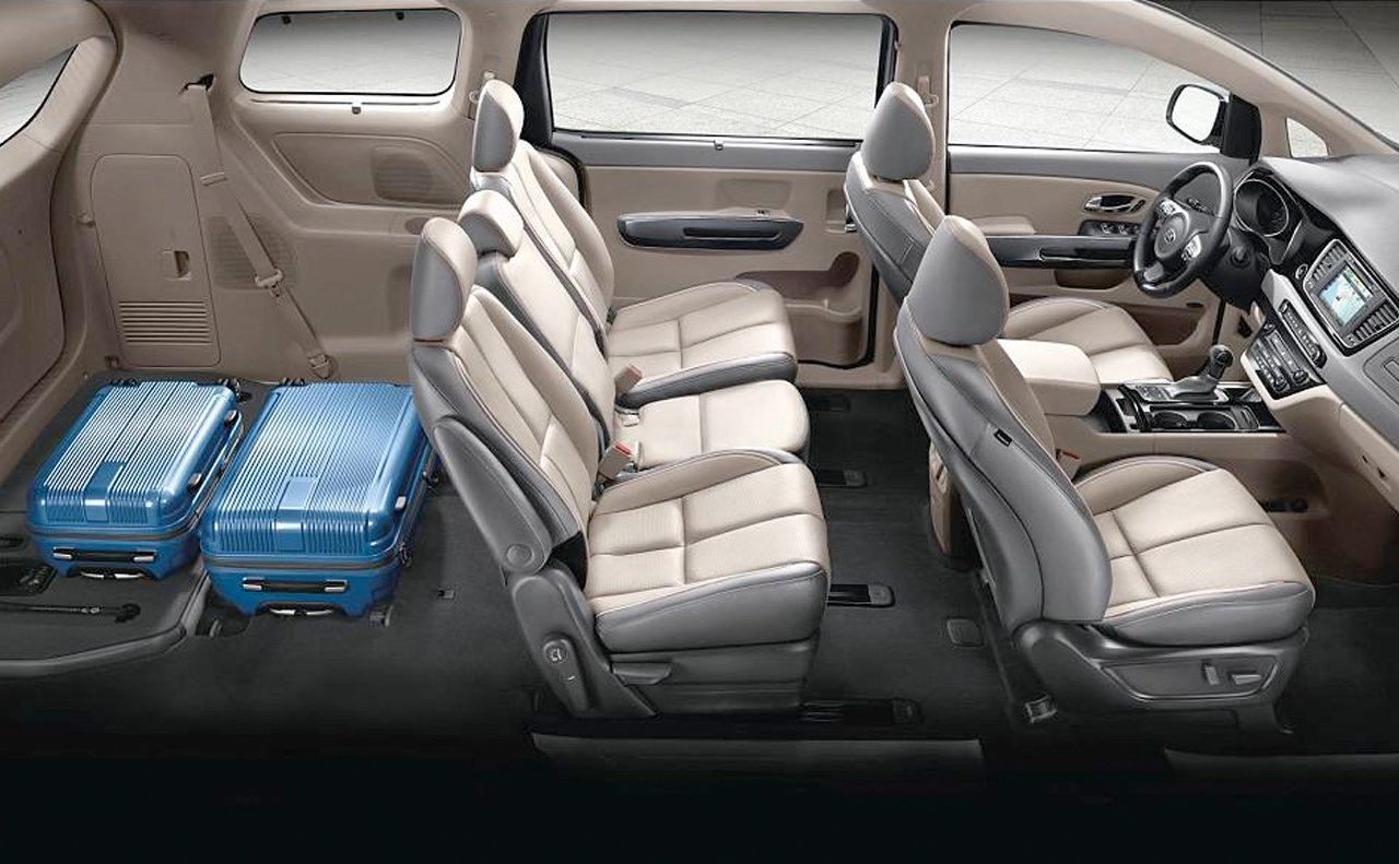 2016 Kia Sedona Lounge Seating And Slide N Stow Seats