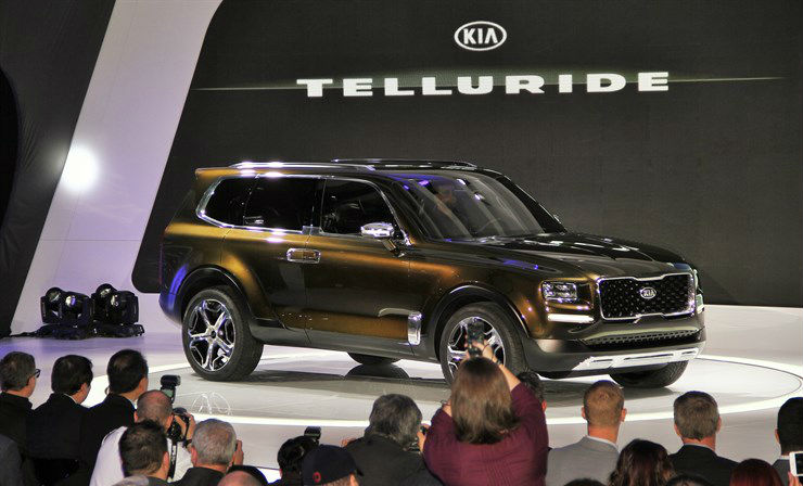 Kia Telluride Suv Concept Release Date And Features
