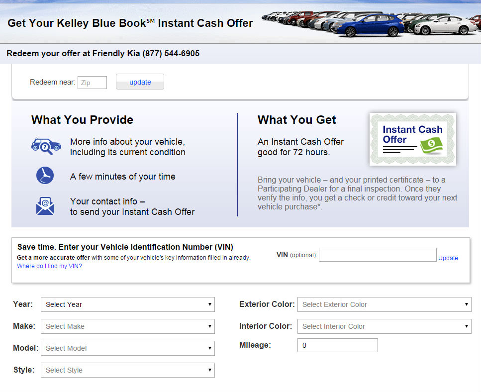 Kelley Blue Book Trade-In Tampa Clearwater St. Petersburg FL