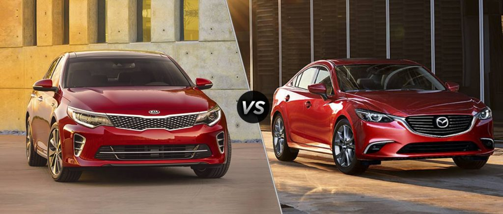 2017 and 2016 kia models vs. 2016 mazda models