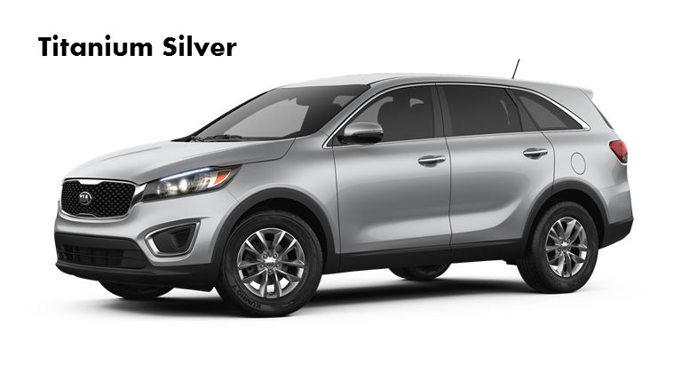 2017 Kia Sorento Available Exterior Colors And Interior Colors