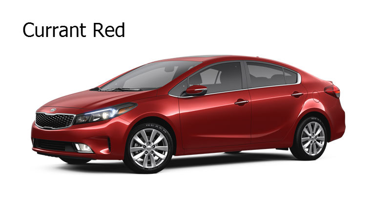Kia Fort Myers >> 2017 Kia Forte Exterior Color Options and Interior Color ...