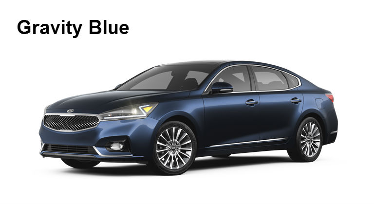 2017 Kia Cadenza Arrival Exterior Interior Paint Color Options