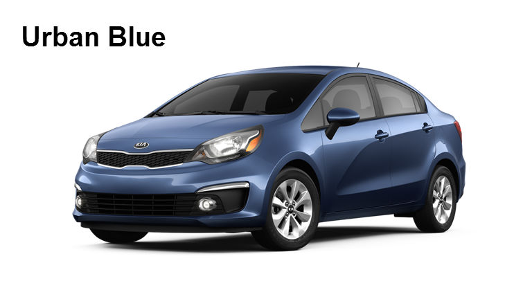 2017 Kia Rio Paint Color Options Exterior And Interior