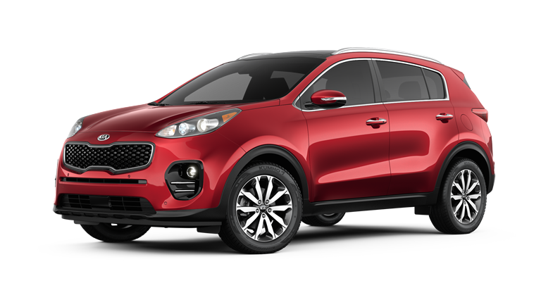 2018 Kia Sportage Exterior Paint and Interior Fabric Color Options
