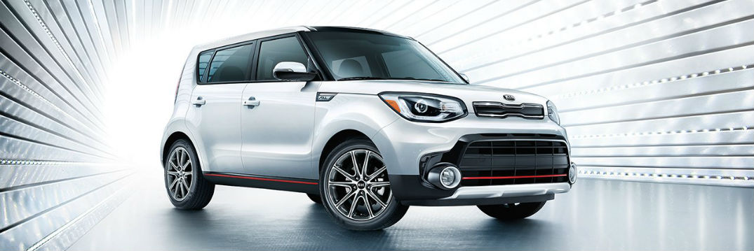 2018 and 2017 Kia Soul Exclaim trim level specs with 201 HP