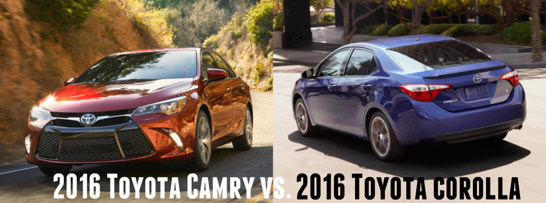 differences between toyota corolla and camry autos post. Black Bedroom Furniture Sets. Home Design Ideas